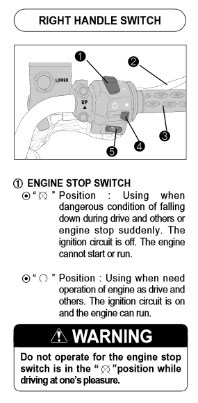 How to turn ON and OFF your motorcycle? | Rider Chris Kill Switch Wiring Diagram For Harley Motorcycle on 3 wire spa motor wiring diagram, 1999 harley-davidson electra glide wiring diagram, motorcycle horn wiring diagram, mod box wiring diagram, honda obd1 fuel injector wiring diagram,