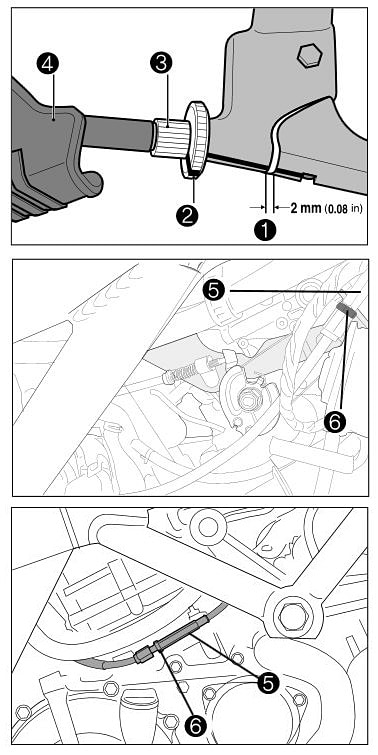 hyosung cable clutch adjustment clutch cable maintenance rider chris hyosung gt250r brake wiring diagram at webbmarketing.co