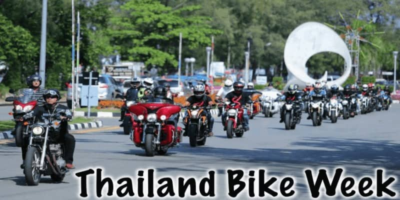 Thailand Bike Week Events 2017