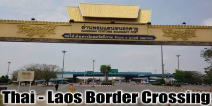 Thailand – Laos Border Crossing