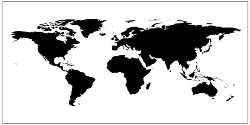 World Map Vector Files Free Download - Rider Chris on