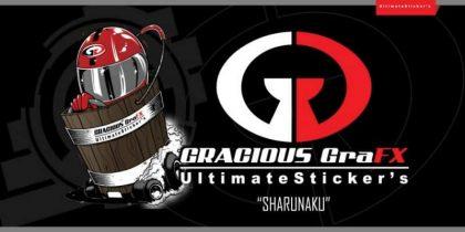 Gracious GraFX Putra Stickers