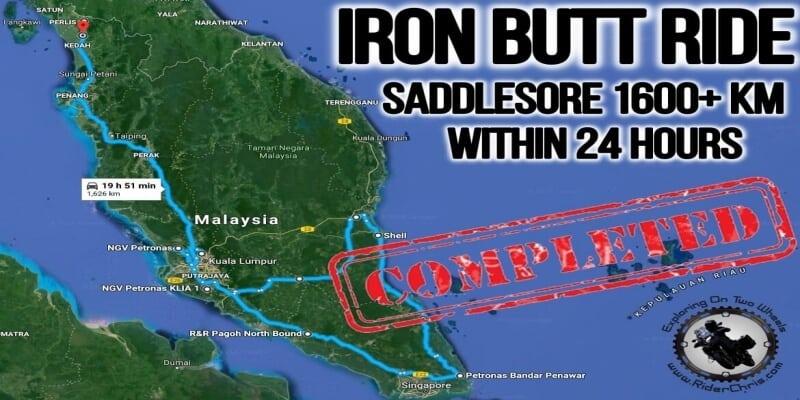 Iron Butt Ride Report