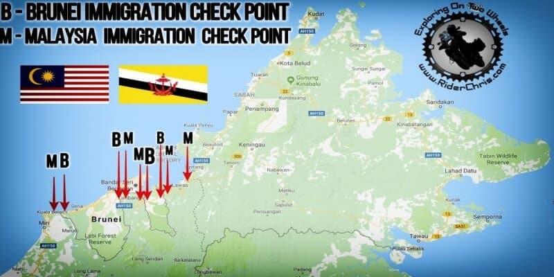 Brunei Border Crossing