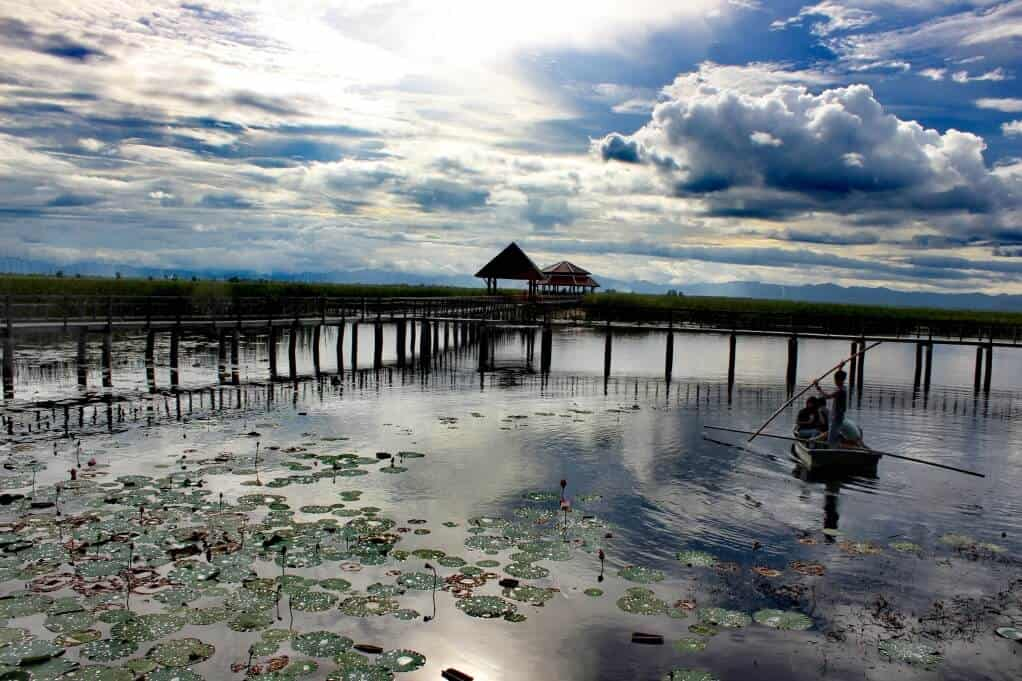 hua hin attractions - Buang Hua Wood boardwalk