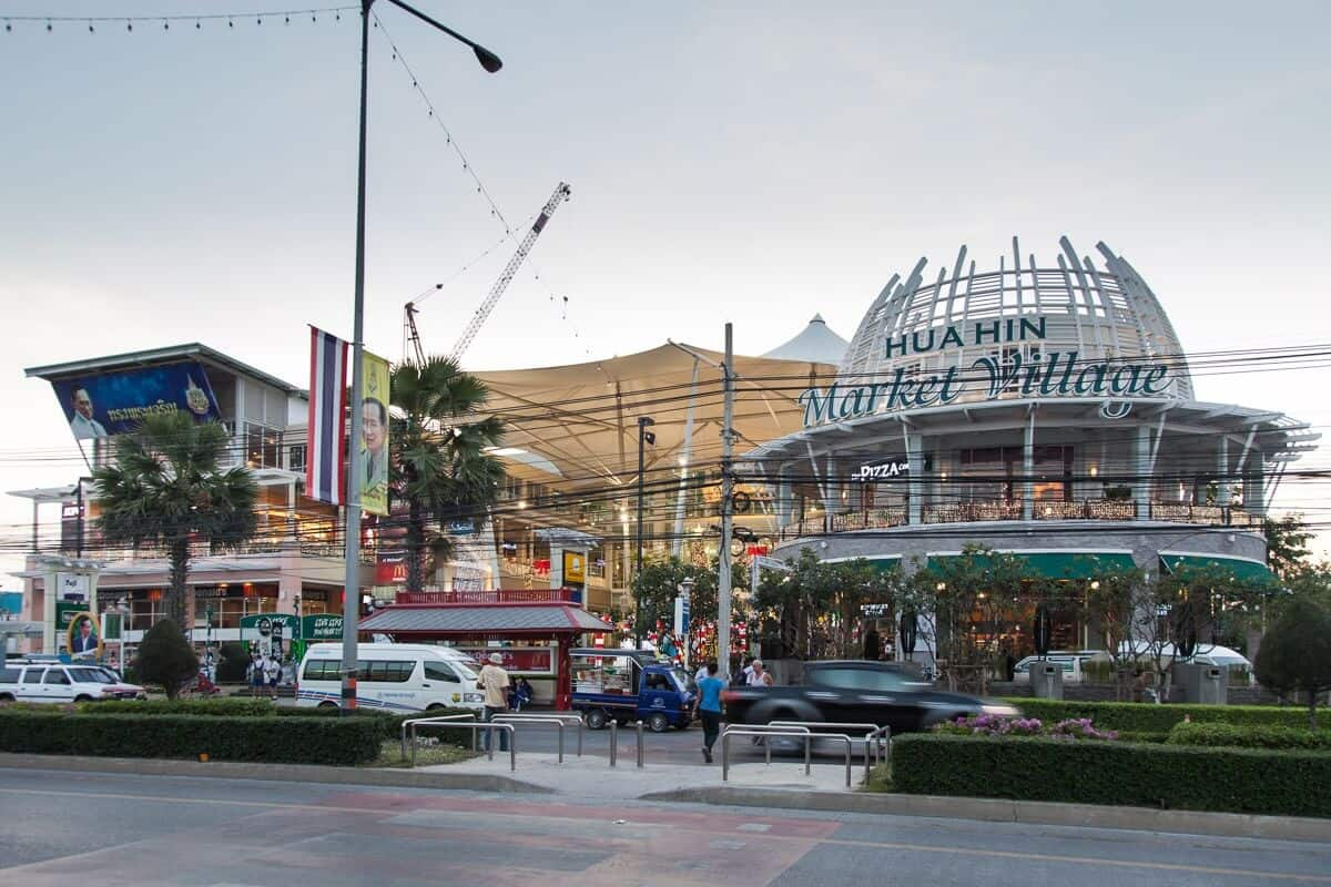 hua hin attractions - Hua Hin Market Village Mall
