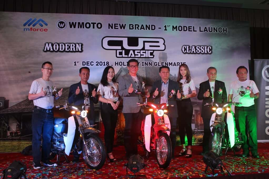 Mforce Staff with WMoto Cub Classic 110