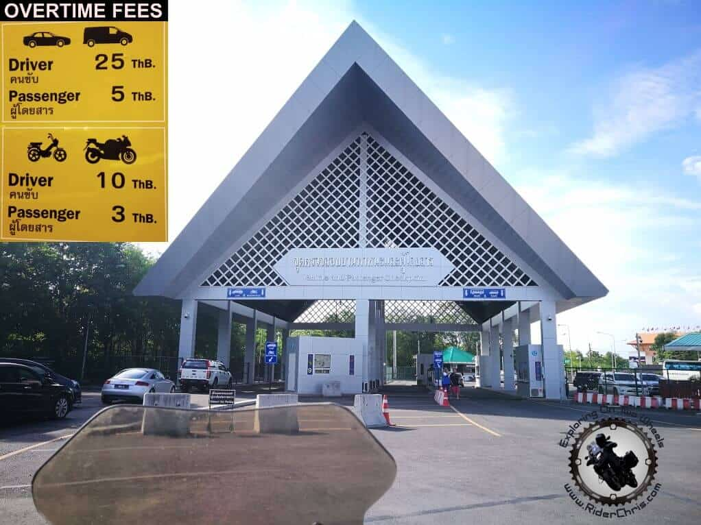 Thailand Border Crossing Fees