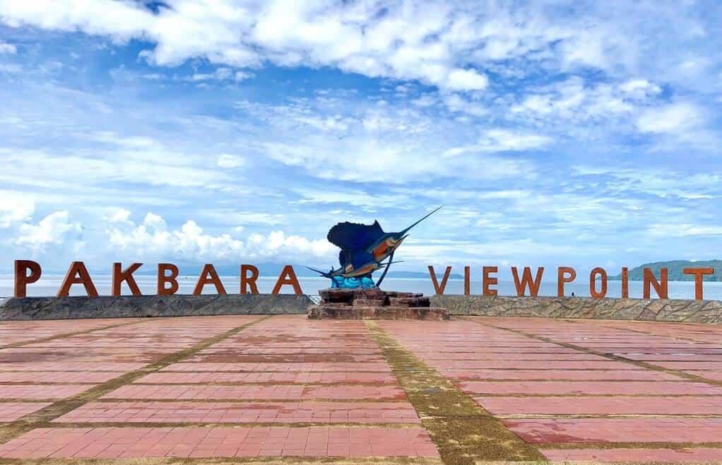Pak Bara view point