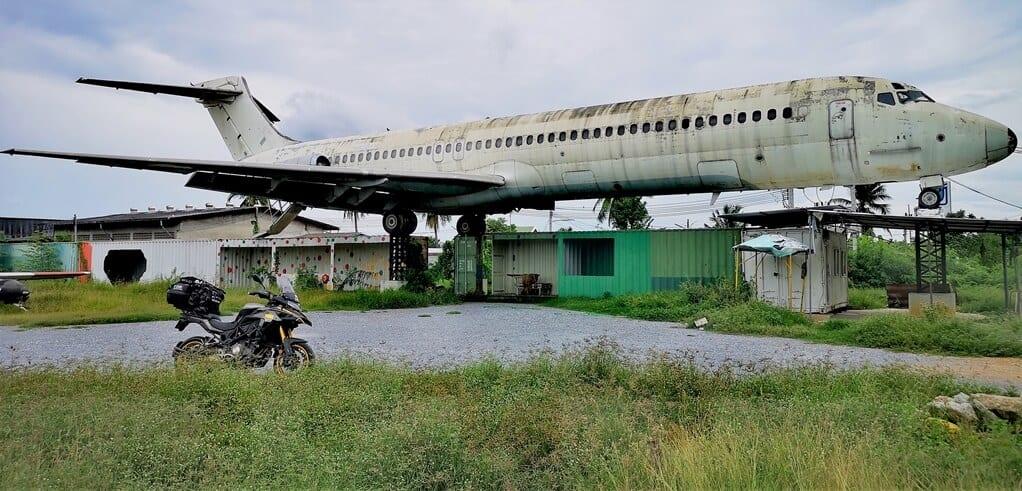Bangkok Airplane Market