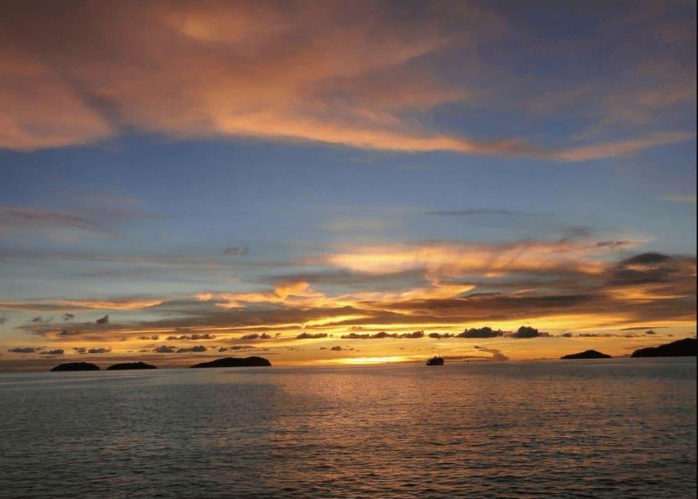 best sunset view in kota kinabalu