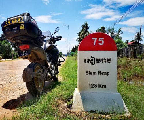 On the way to Siem Reap