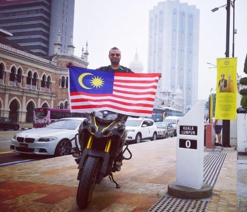 Back in Kuala Lumpur